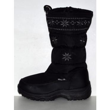 Snehule Black 2 čierne