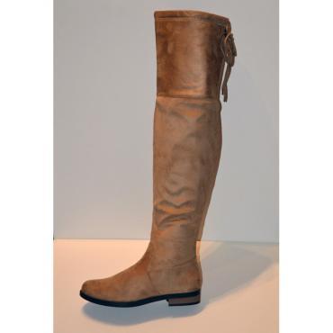 Adeleid hnedé, vysoké čižmy nad kolená