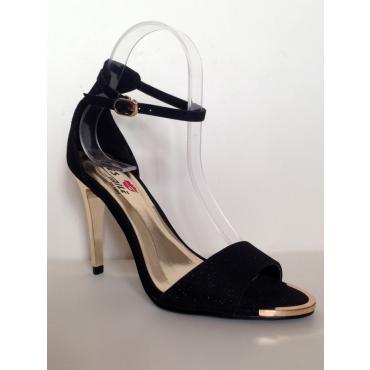 sandále Aisha čierne