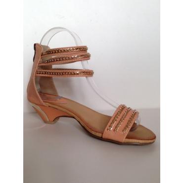 sandálky Peaches broskyňové